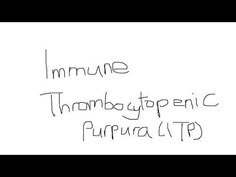 Haematology - ITP (immune thrombocytopenic purpura)