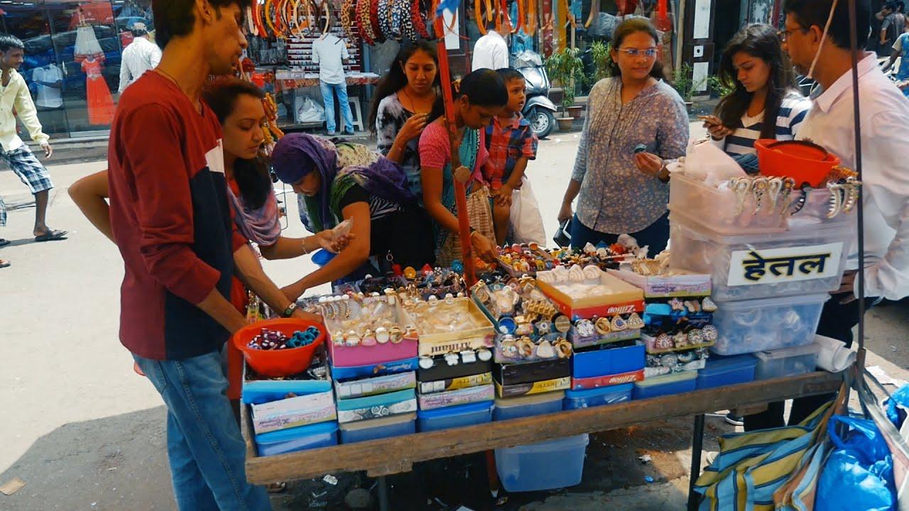 Mumbai Bhuleswar Shopping Market for Ladies,Women and Girls.Places .