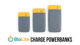 SPOTLIGHT: Biolite - Charge Powerbanks
