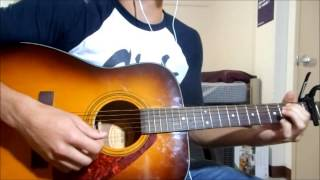Repeat youtube video Miles Away (Acoustic Version) by Memphis May Fire (Guitar Cover) (backup vocals)