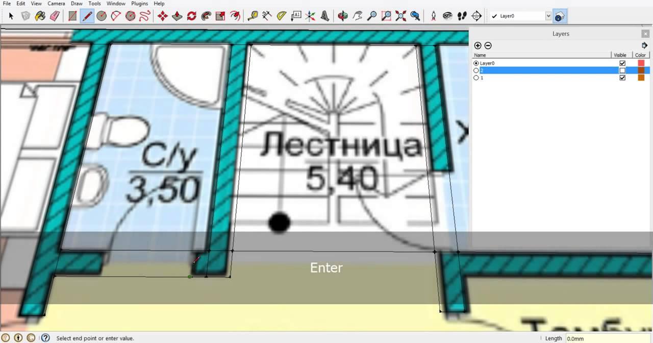 Как посчитать площади помещений в Архикад Уроки ArchiCAD