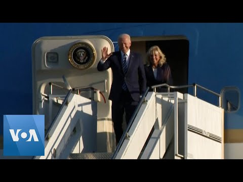 US President, First Lady Arrive in UK at Start of Visit