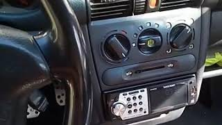 Не працює вентилятор салону(пічки) Opel Tigra/Не работает вентилятор салона (печки)