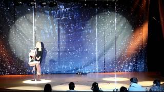 Софья Киперман Miss Pole Dance Russia 2012 дети (Sofia Kiperman. Kids)