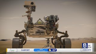 Optimax optics on Mars Rover