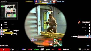 HIGHLIGHT- NEO 4 man - Virtus.Pro vs G2 Esports - Dreamhack Open Cluj-Napoca 2015