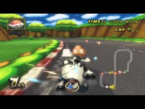 Mario Kart Wii - Custom Star And Mega Mushroom Music