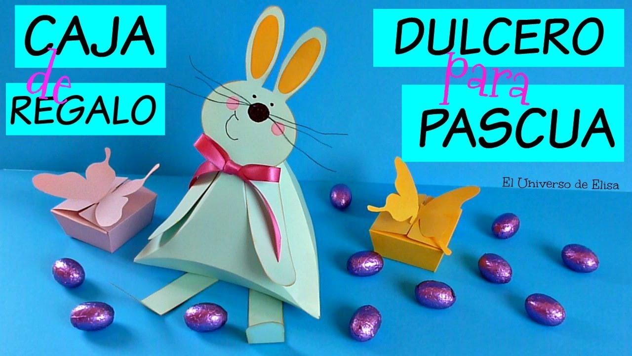 Manualidades para pascua conejo dulcero caja de regalo - Manualidades para regalos ...