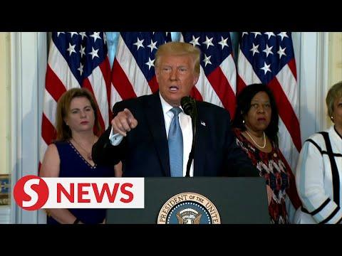 Michelle Obama's speech 'very divisive': Trump
