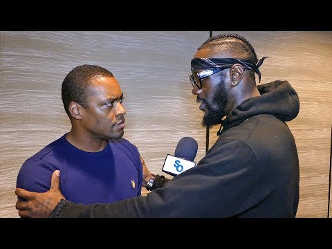 Deontay Wilder & Radio Rahim IMMEDIATELY ADDRESS CONTROVERSY!