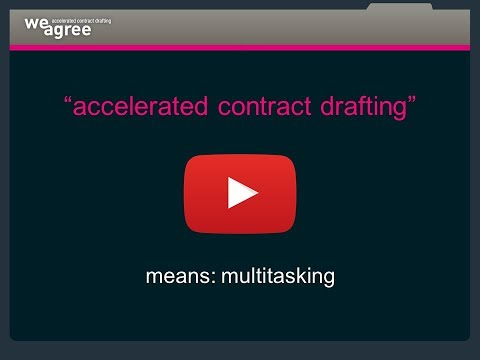 Weagree, Contract automation multitasker, feedback feature