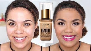 Video Covergirl Elixir Foundation Review (Oily Skin) | samantha jane download MP3, 3GP, MP4, WEBM, AVI, FLV Januari 2018