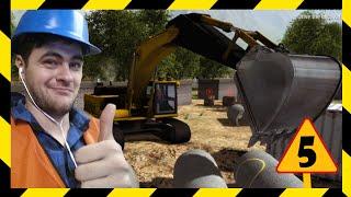 BEZ MŁOTA TO NIE ROBOTA- SYMULATOR BUDOWLAŃCA: Construction Machines Simulator 2016 (#5)
