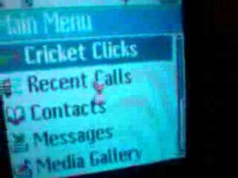 Kyocera Cricket BREW Hack