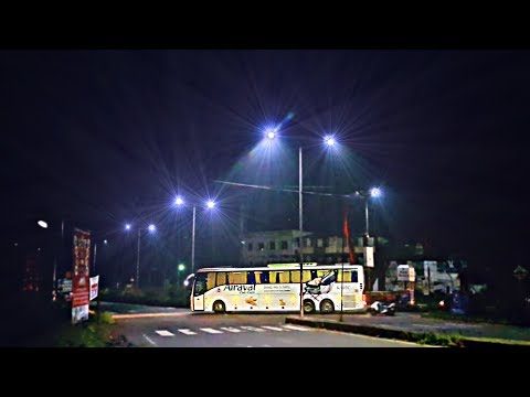 Over 100 Luxury Buses Back To Back!!! Epic Bus Convoy from Mangalore to Bangalore!!!