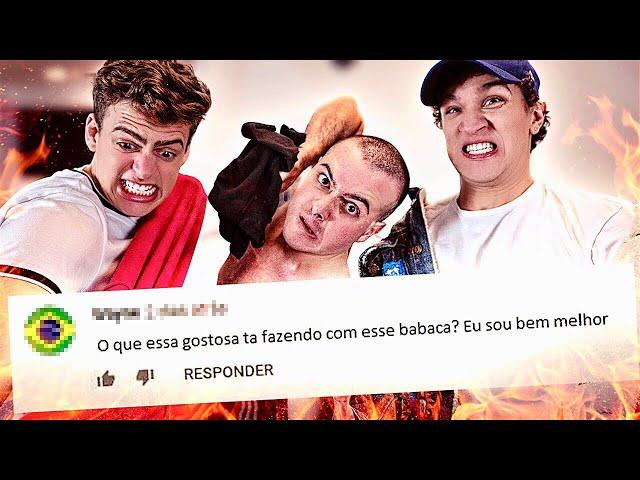 RESPONDENDO HATERS NA RIMA! (ft. Jon Vlogs e Bola)