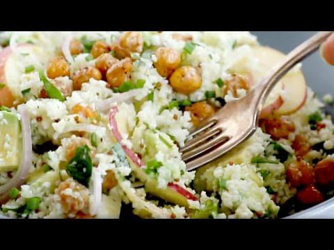 Chickpea Cauliflower Grain Bowl