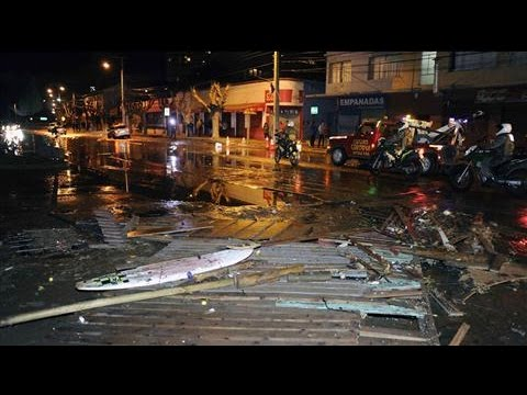 Chile Earthquake Triggers Tsunami Warning