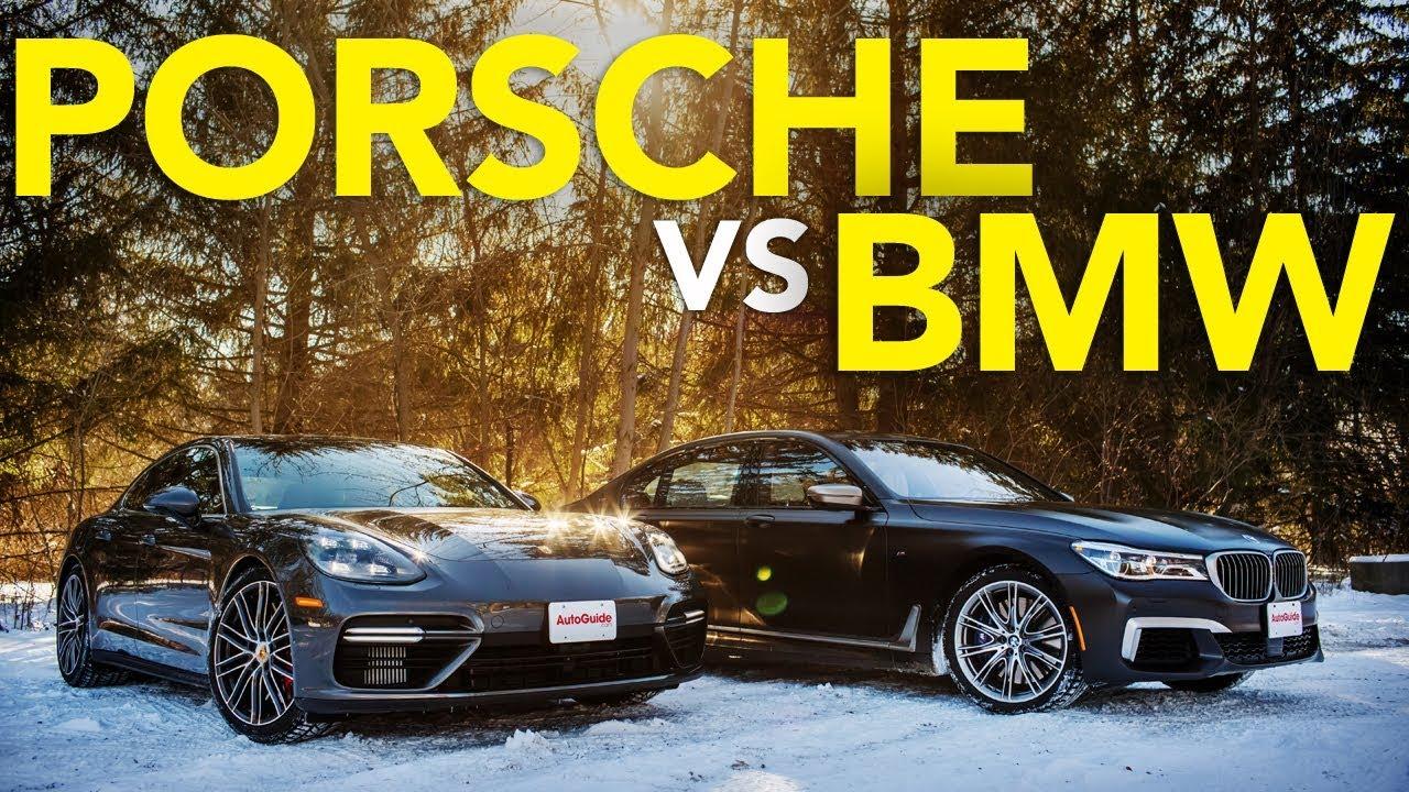2018 BMW M760i vs Porsche Panamera Turbo Comparison | Which Luxury Winter Beater Wins? - Dauer: 9 Minuten, 15 Sekunden