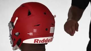 Riddell SpeedFlex Footbal Fitting Instructions