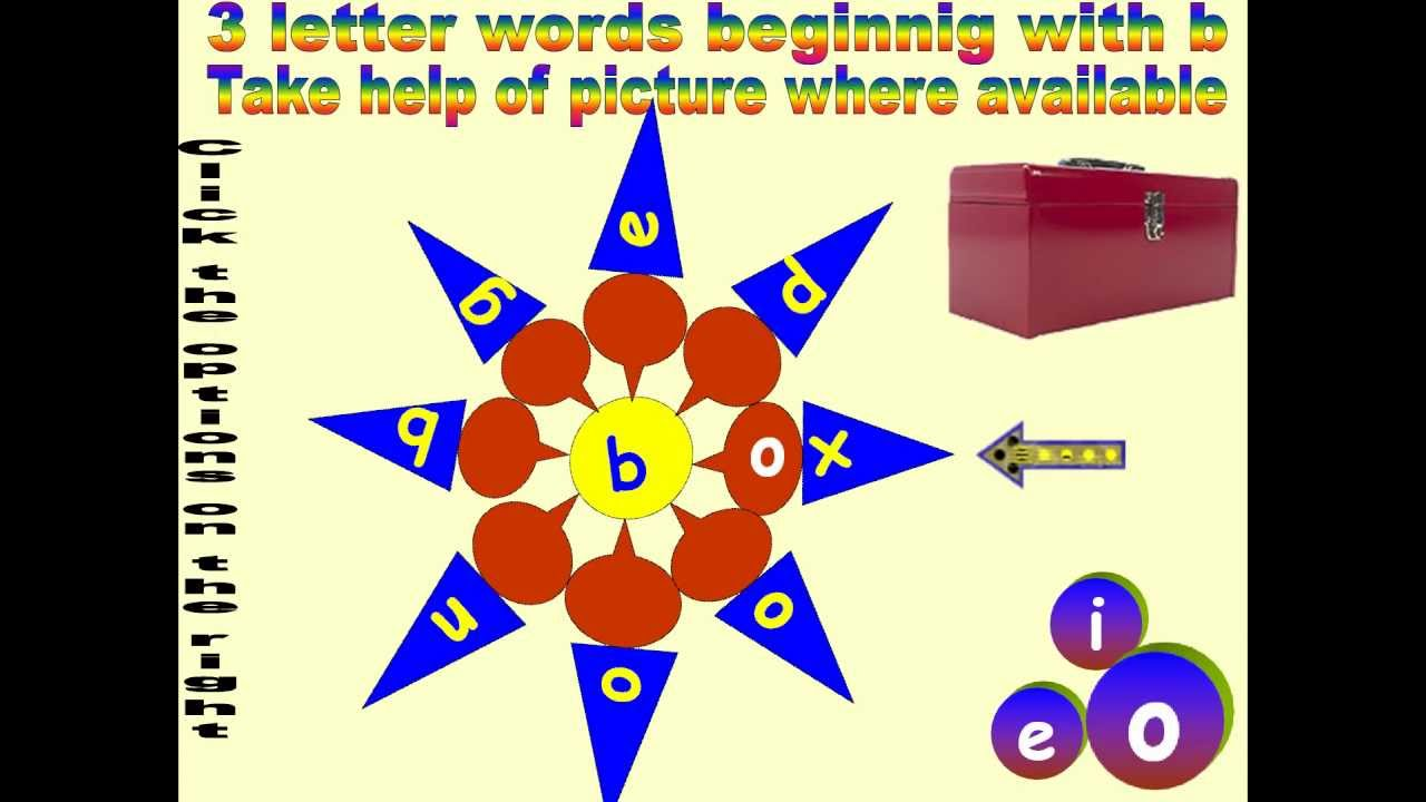 six letter words starting with b for beginners 3 letter words beginning with 39 b 24886 | maxresdefault