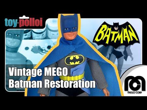 Fix it guide - Vintage MEGO Batman restoration - Toy Polloi