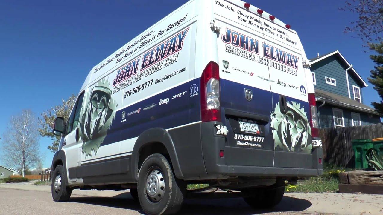 chrysler jeep dodge ram mobile service greeley co john elway chrysler jeep dodge ram youtube. Black Bedroom Furniture Sets. Home Design Ideas