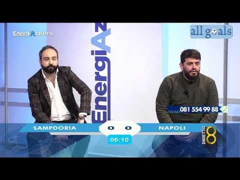 Sampdoria-Napoli 0-2 11/4/21 live reactions Energia Azzurra - Calcio Napoli TV