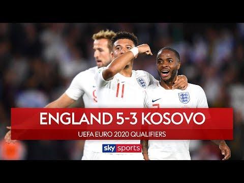 Sterling & Sancho star in thriller! | England 5-3 Kosovo | Highlights | UEFA Euro 2020 Qualifiers