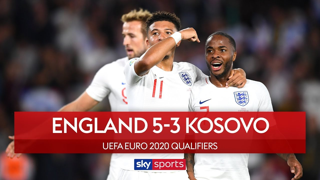 Sterling & Sancho star in thriller! | England 5-3 Kosovo | Highlights | UEFA Euro 2020 Qualifiers