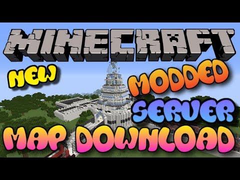 minecraft modded world download pc