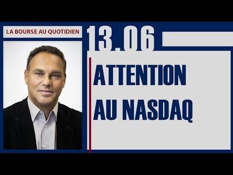 La Bourse au Quotidien - Attention au NASDAQ