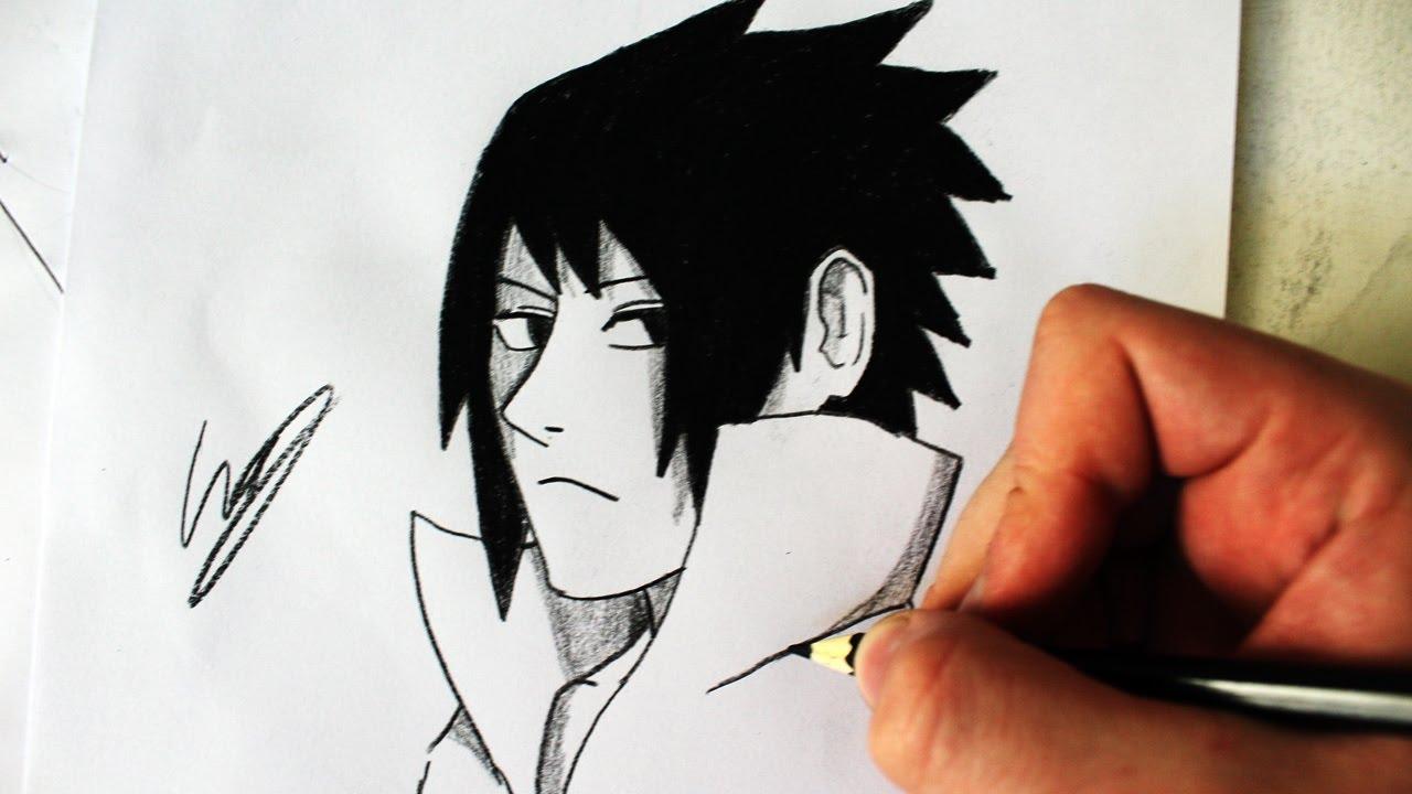 Como Desenhar O Sasuke Uchiha Naruto Shippuden How To Draw