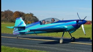 Blake's wild aerobatic ride with Keith at the Poplar Grove Airport
