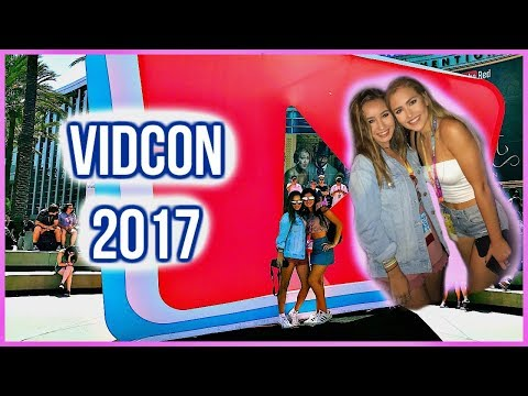 Vidcon Vlog 2017 (Olivia jade, Mel Joy, Chloe Couture, Alisha, Sierra, ECT. thumbnail