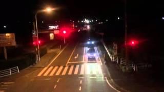 熊本県八代郡氷川町 津波注意報に避難する町民