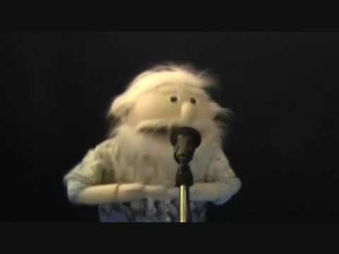 Puppet singing  Ive Lost My Mummy by Rolf Harris
