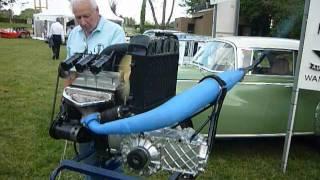 DKW engine warm up