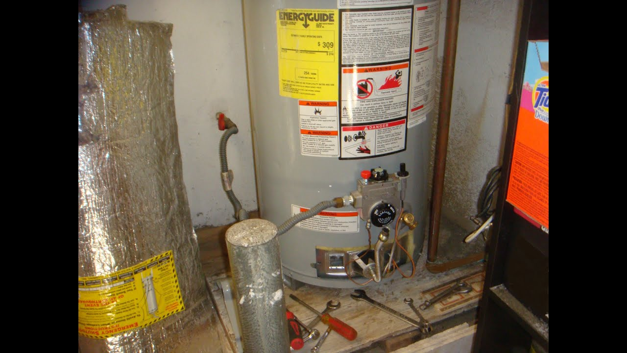 Ao Smith Promax Hotwater Heatrer Burner Removal Youtube