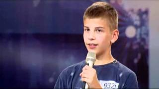 Hrvatski Super Talent (18.09.2011.) - Eugen Galetic