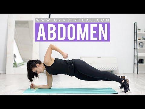 Abdomen perfecto y eliminar rollitos de la espalda | GymVirtual