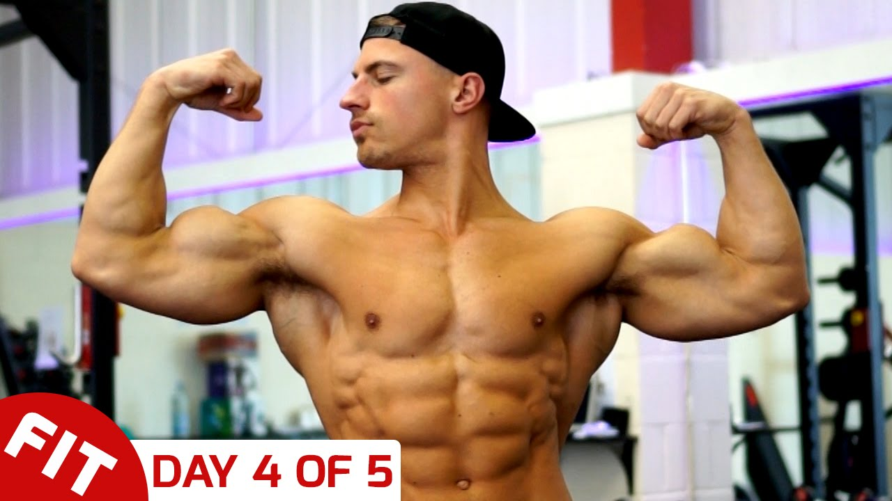 GET A BODY LIKE MIKE THURSTON - DAY 4 - ARMS - YouTube