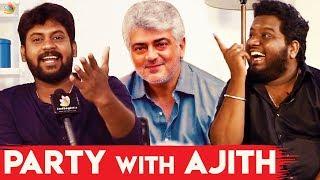 Party With Ajith : Rio & RJ Vigneshkanth Opens Up   Nenjamundu Nermaiyundu OduRaja Team Interview