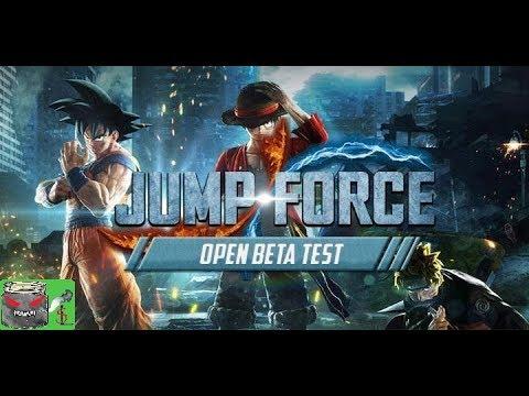 Jump Force Beta Hoo Ha Ha LIVE Stream & Chat! Take 2