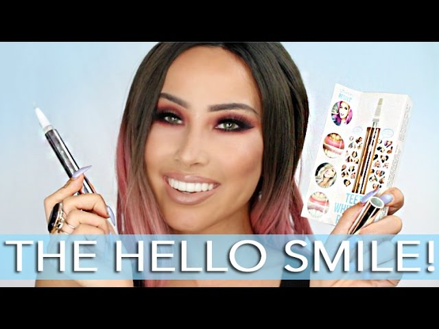 The Hello Smile Teeth Whitening Pen Review!
