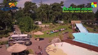 Ardoer camping de Hertshoorn vanuit de lucht