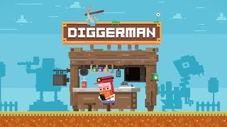 Diggerman - official trailer - by Digital Melody Games