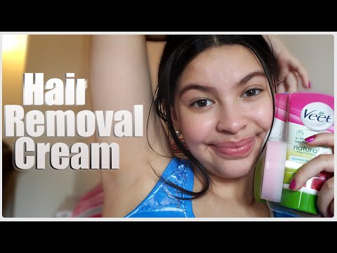 Veet S Hair Removal Cream Product Review Youtube