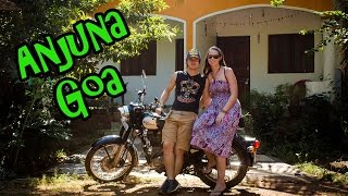 Our little house in Goa & Anjuna beach