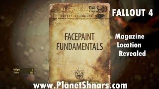 Таємні операції США Керівництво #3 - основи Facepaint - одинока каплиця - Фоллаут 4